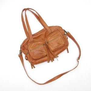 Day & Mood Vera Leather Satchel Anthropologie Bag